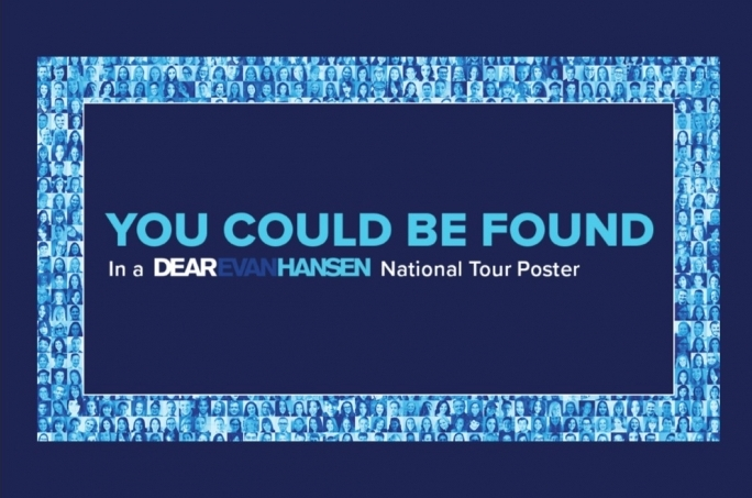 You could Be Found in the Dear Evan Hansen Detroit Mosaic