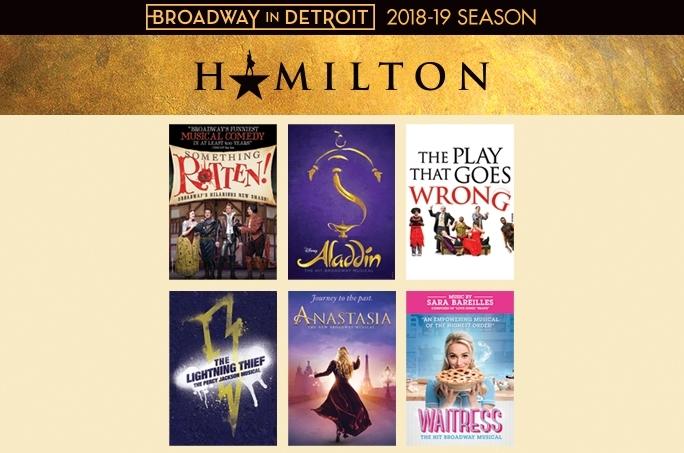 Broadway In Detroit announces 2018-19 Season