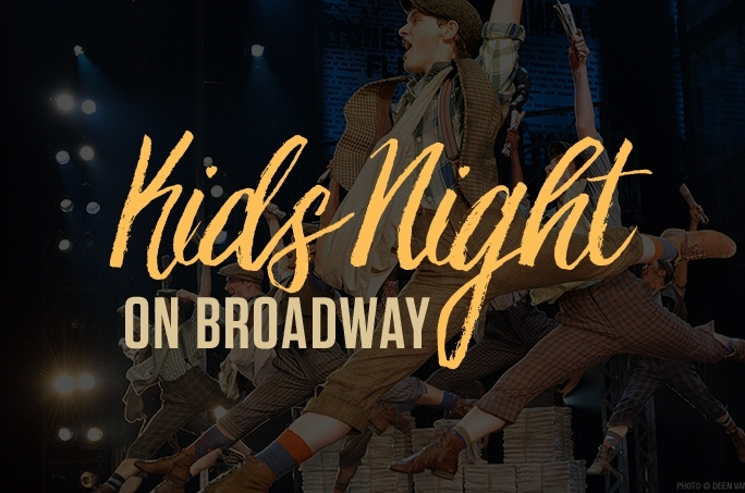 Join us for KIDS NIGHT ON BROADWAY December 16th with NEWSIES at The Detroit Opera House!