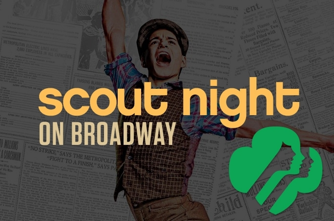 Join us for Scout Night at Newsies! On December 17th at The Detroit Opera House